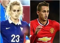 Enlace a La hermana perdida de Januzaj juega para Francia