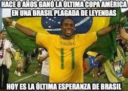 Enlace a La Brasil de Robinho
