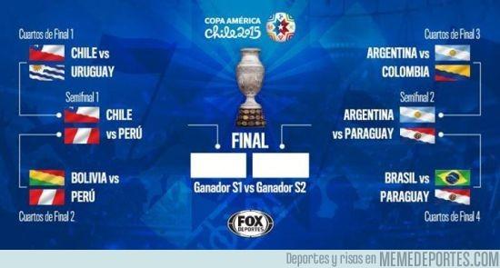 604393 - Estas son las semifinales de la Copa, ¿Quiénes pasarán?