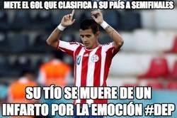 Enlace a Mete el gol que clasifica a Paraguay a semifinales