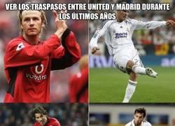Enlace a Buena relación de traspasos entre Real Madrid y Manchester United