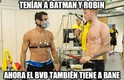 Enlace a El Borussia no tiene suficiente con Batman y Robin
