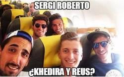 Enlace a Los compañeros de viaje de Sergi Roberto