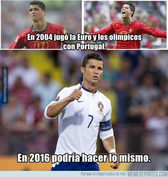 607834 - Portugal plantea repetir con Cristiano