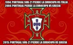 Enlace a A Portugal no se le dan bien las finales