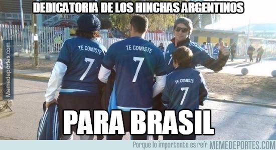 608050 - Mientras tanto, así van los argentinos al partido contra Paraguay