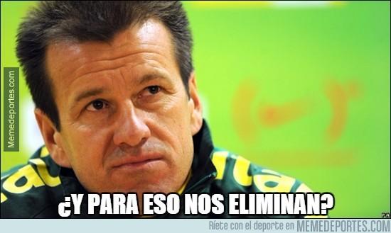 608830 - Dunga no entiende a Paraguay después del 6-1 de Argentina