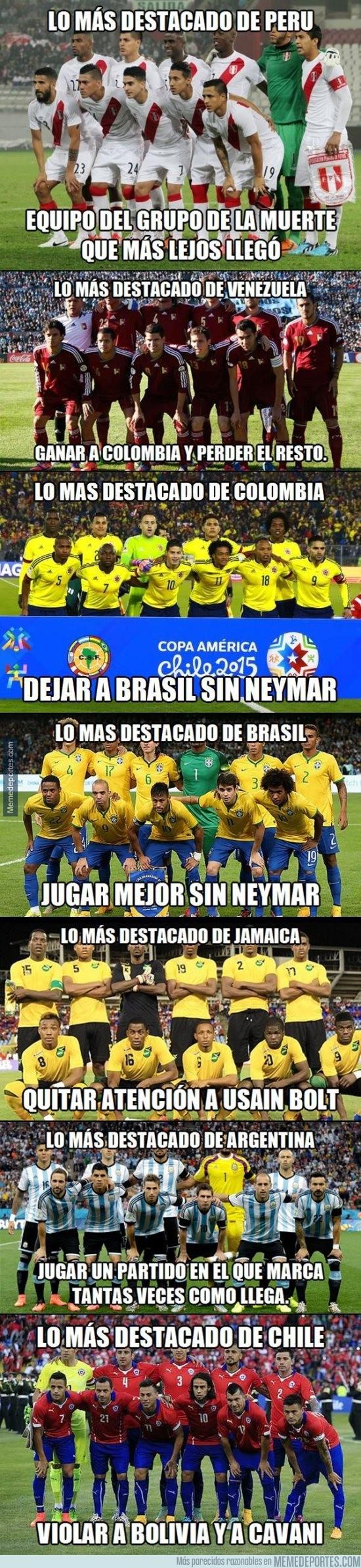 609002 - Lo más destacado de las selecciones en la Copa América