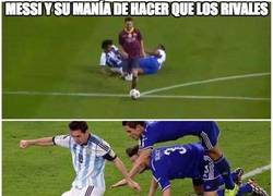 Enlace a La especialidad de Messi