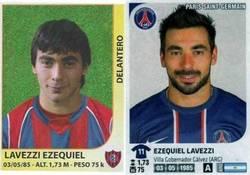 Enlace a Evolución de Ezequiel Lavezzi
