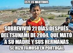 Enlace a La increíble historia de un niño que sobrevivió al tsunami de 2004