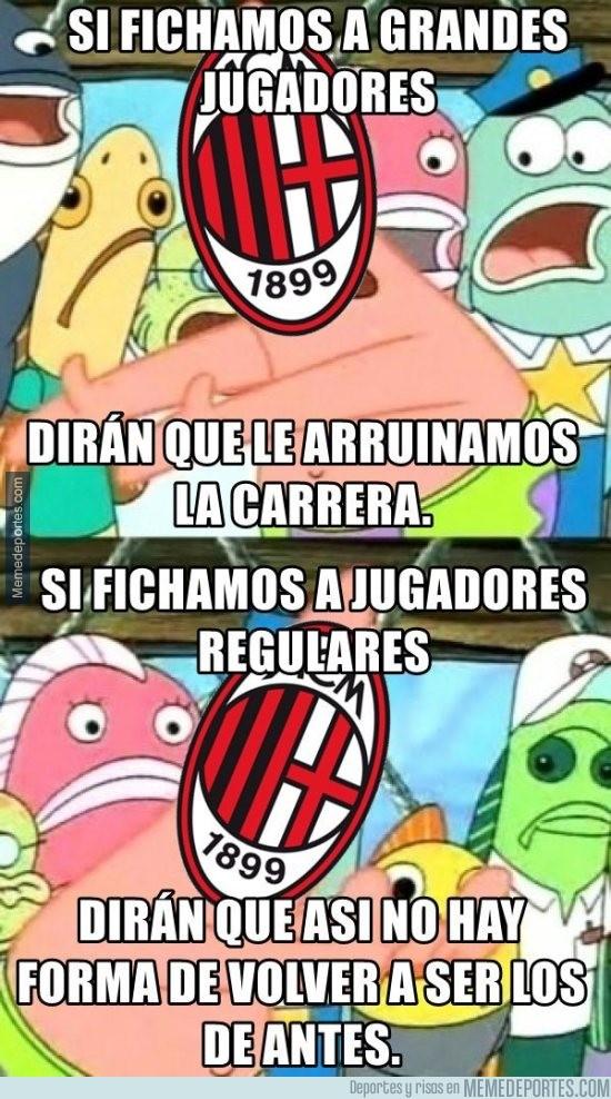 610961 - Al Milan no le dejan volver a ser legendario
