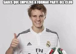 Enlace a Odegaard se ha integrado bien en el Real Madrid