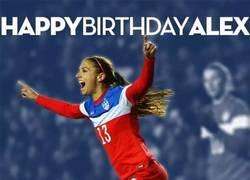 Enlace a Happy Birthday Alex Morgan