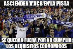 Enlace a Ourense no será equipo ACB al no superar la auditoría