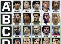 Enlace a ¿Qué grupo de 5 leyendas elegirías?