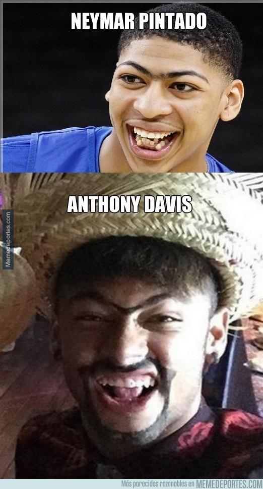 612760 - A Neymar le gusta parecerse a Anthony Davis