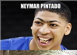 Enlace a A Neymar le gusta parecerse a Anthony Davis