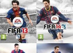 Enlace a La portada de los últimos cuatro FIFA