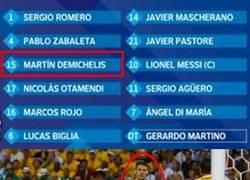 Enlace a Argentinos al ver que juega Demichelis
