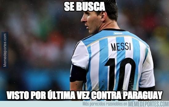 613713 - Se busca a Messi