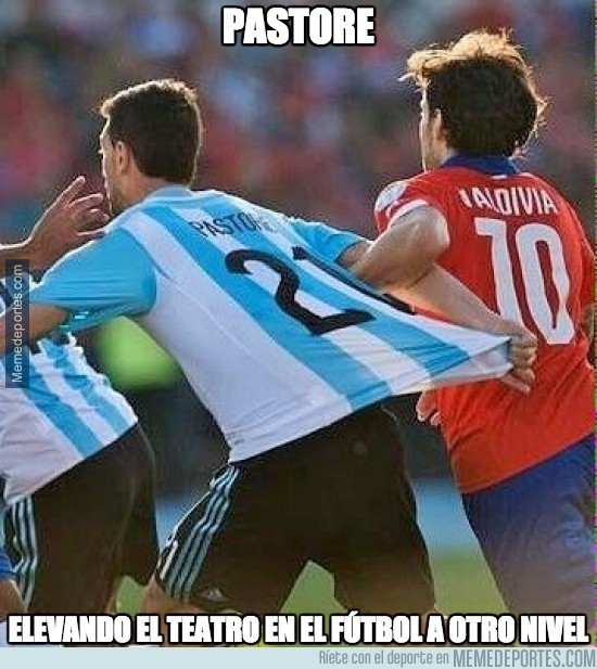 615997 - Así intentó engañar Pastore al árbitro