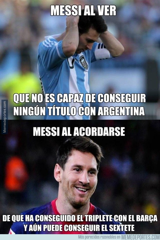 616329 - No todo son lágrimas para Messi