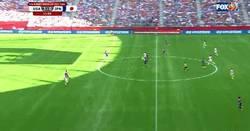 Enlace a GIF: Esta maravilla ha marcado Carli Lloyd en la final del Mundial Femenino. Espectacular