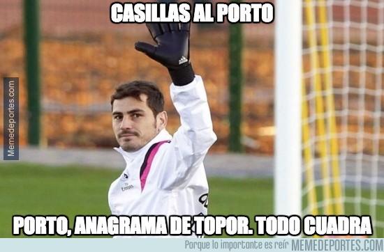 617052 - Según TVE, Casillas se va al Porto