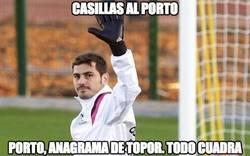 Enlace a Según TVE, Casillas se va al Porto
