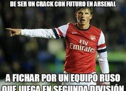 Enlace a De ser un crack con futuro en Arsenal a...