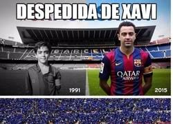 Enlace a Diferencias entre las despedidas de Xavi y de Casillas