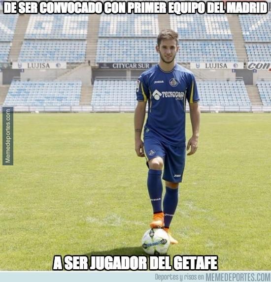 618472 - Álvaro Medrán, nuevo jugador del Getafe y viene de donde ya te puedes imaginar