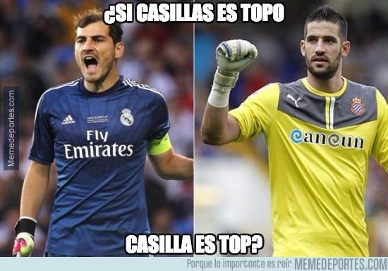 618673 - Si Casillas es topo...