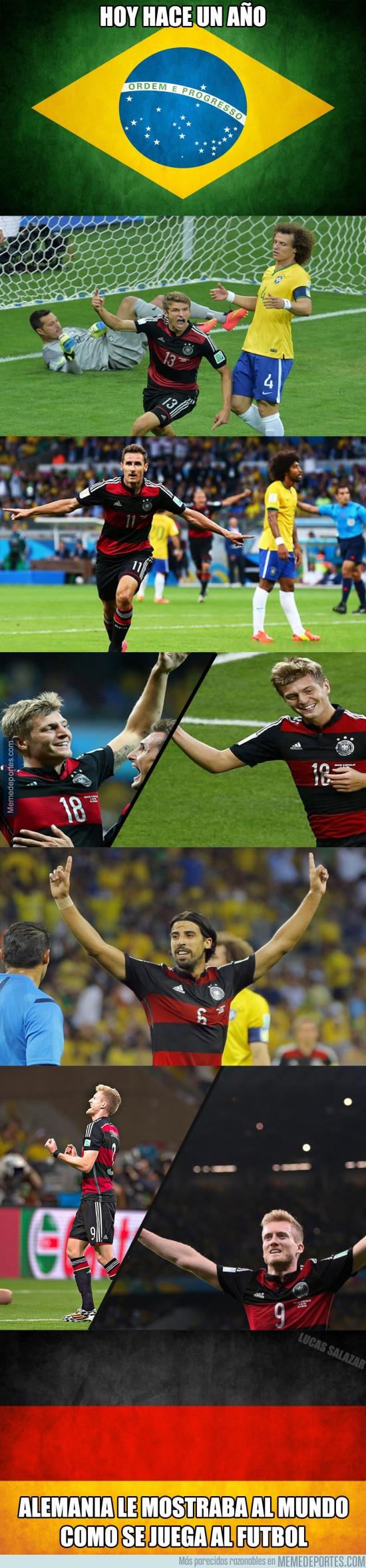 618745 - Se cumple un año del 'Mineirazo', Brasil 1-7 Alemania