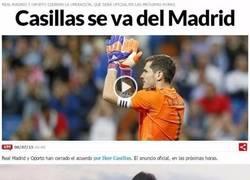 Enlace a Verdaderos aficionados del Madrid al enterarse de la marcha de Iker