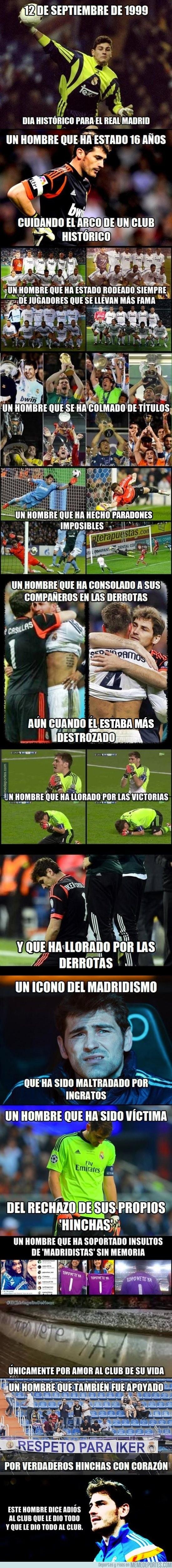 619141 - Iker Casillas, un hombre de corazón blanco