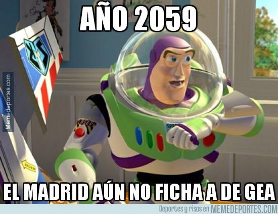 619505 - Año 2059, el Madrid sigue sin fichar a De Gea
