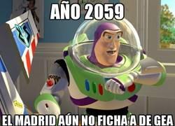 Enlace a Año 2059, el Madrid sigue sin fichar a De Gea