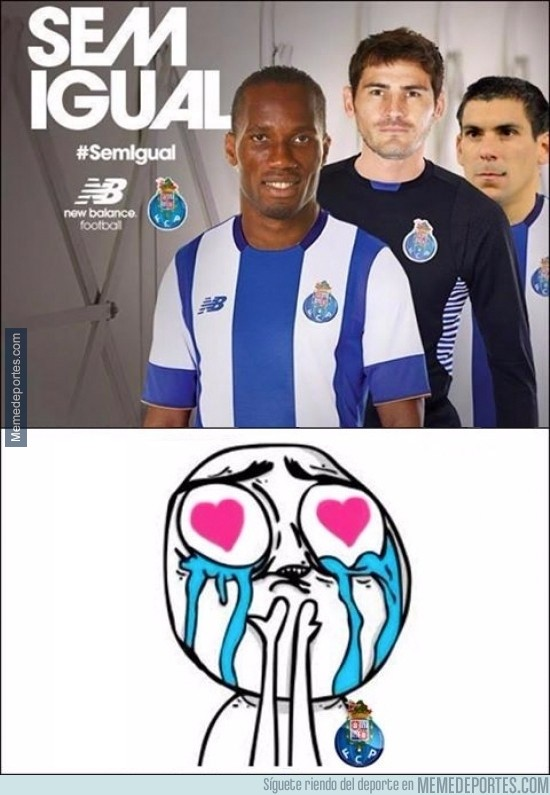 619620 - Los fans del Oporto aún están alucinando