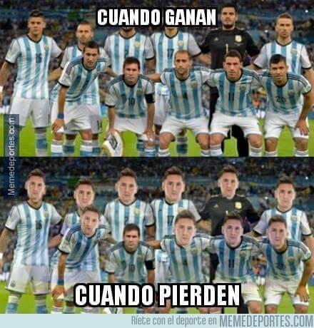 619705 - Triste realidad en Argentina, la culpa siempre es de Messi
