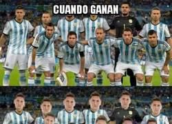 Enlace a Triste realidad en Argentina, la culpa siempre es de Messi