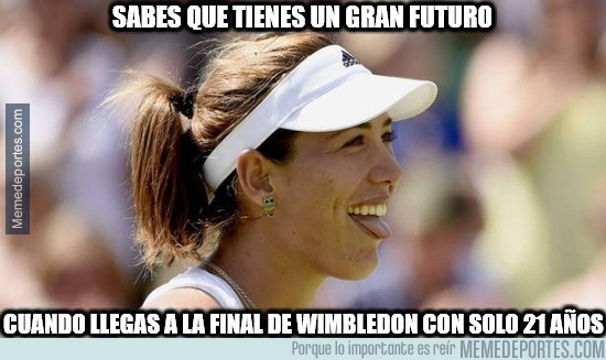 619715 - ¡Muguruza en la final de Wimbledon!