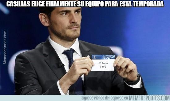 620573 - Casillas elige finalmente su equipo para esta temporada