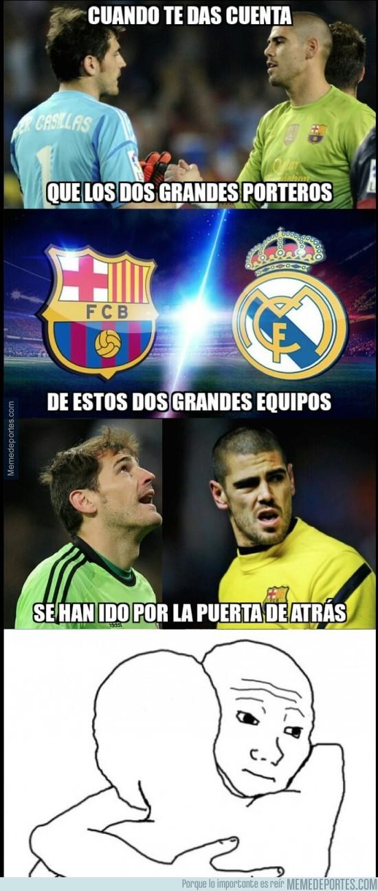 621324 - La cruda realidad de Casillas y Valdés