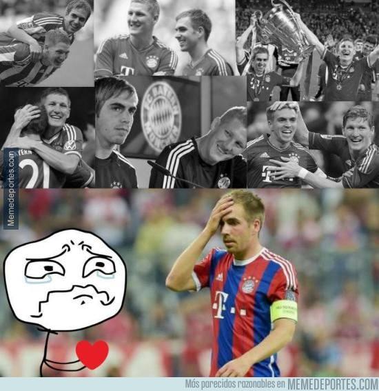 621327 - Se va uno de los últimos referentes del Bayern
