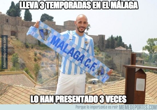 621359 - Lleva 3 temporadas en el Málaga