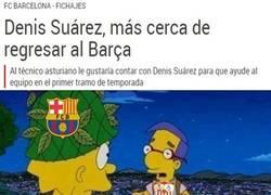 Enlace a ¿Ahora el Barcelona quiere a Denis Suárez?