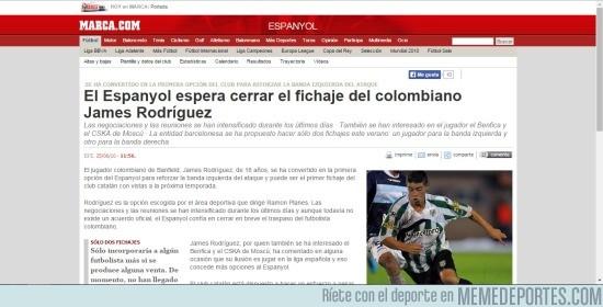 622367 - Ese momento en el que te das cuenta que hace 5 años James Rodríguez casi ficha por el Espanyol