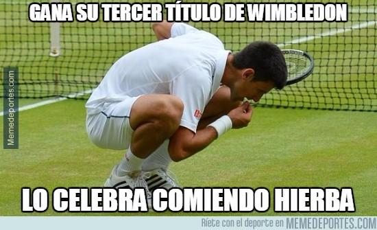 622658 - Gana su tercer título de Wimbledon